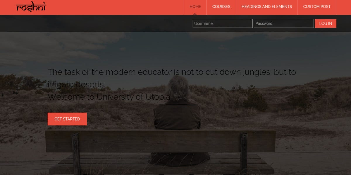 Online Education Professional Moodle Theme $44