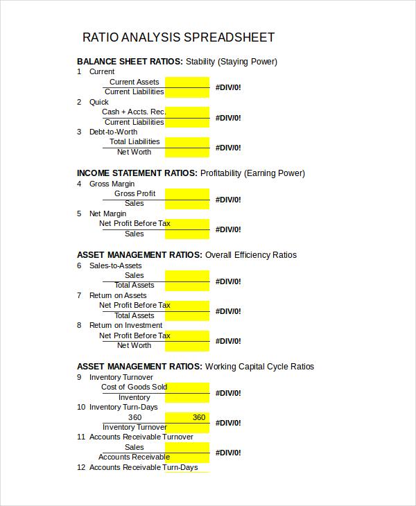 ratio-analysis-spreadsheet-template