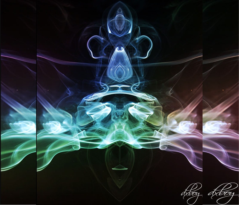 singapore smoke art photography