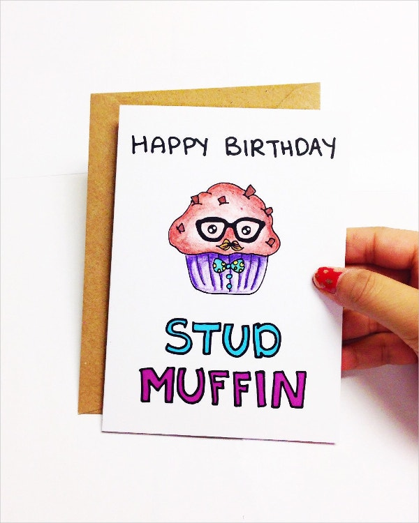 Funny Birthday Card Boyfriend