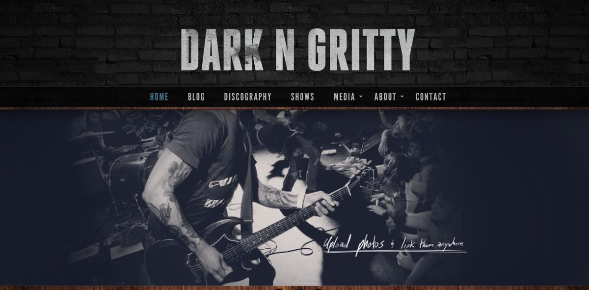 Musician & Band Artist WordPress Website Theme