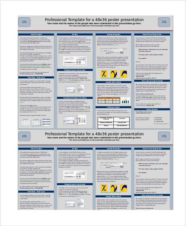 poster presentation powerpoint template - cafenews, Poster Presentation Ppt Template, Presentation templates