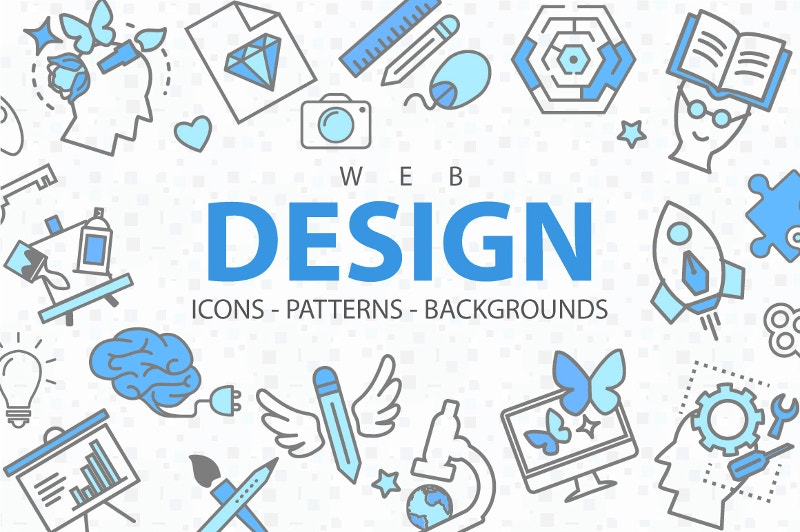 web-design-line-icons