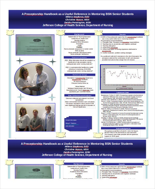 Poster Presentation - 7+ Free Ppt Documents Download | Free