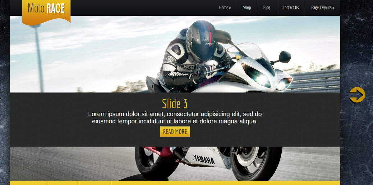 Premium Motorcycle WordPress Theme