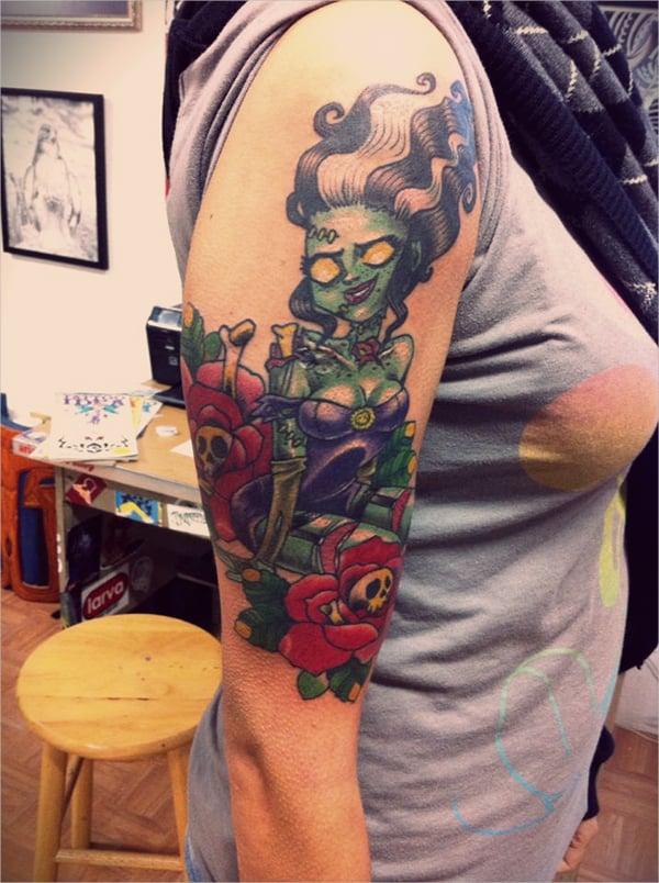 franky tattoo design