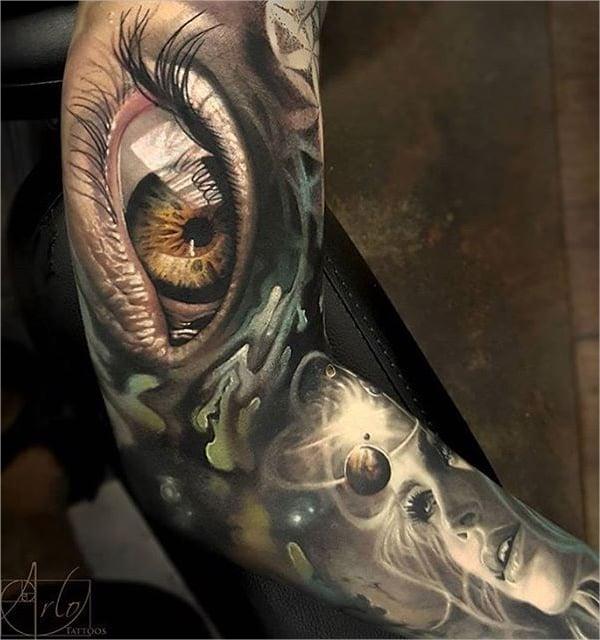 3d tattoo design