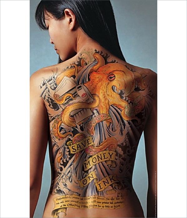 body art tattoo design