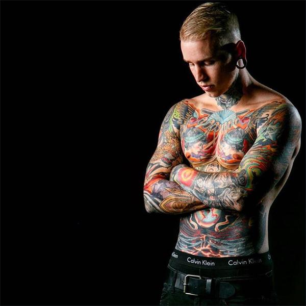 colorful tattoo design1