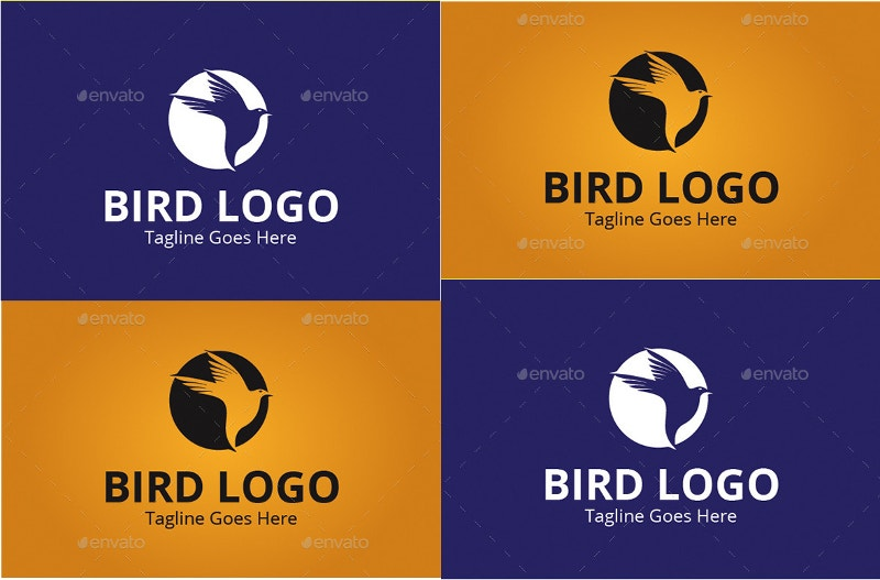 monster bird logo design1