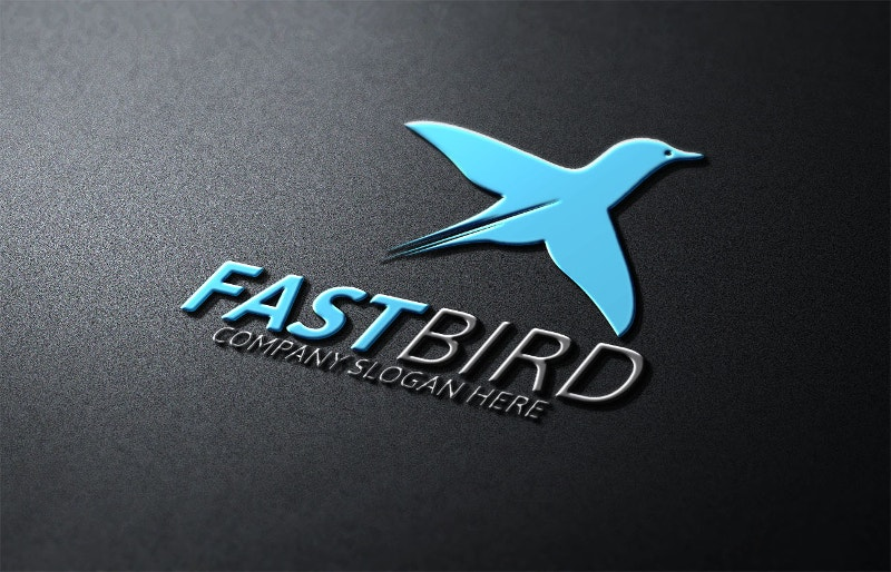 aviation bird logo