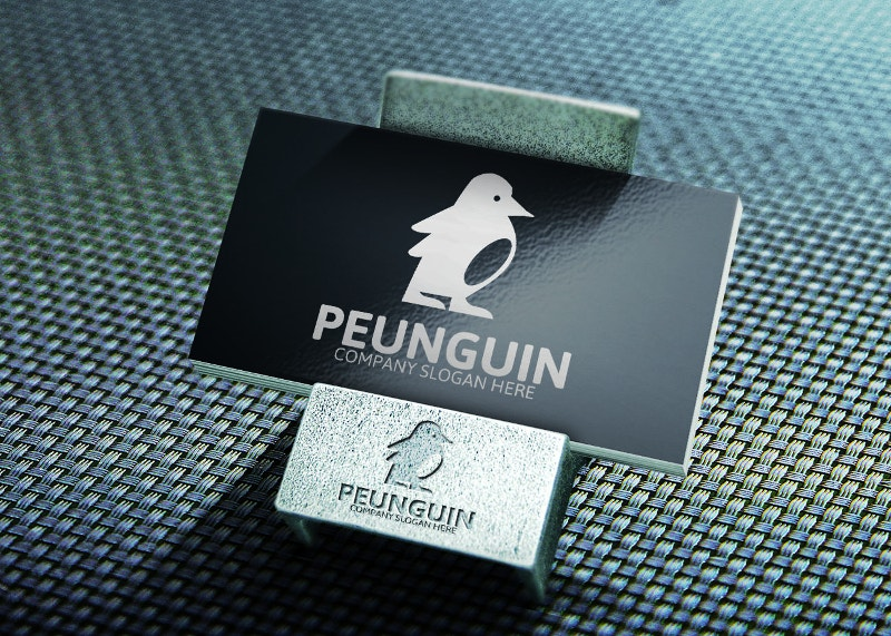 penguine logo design2
