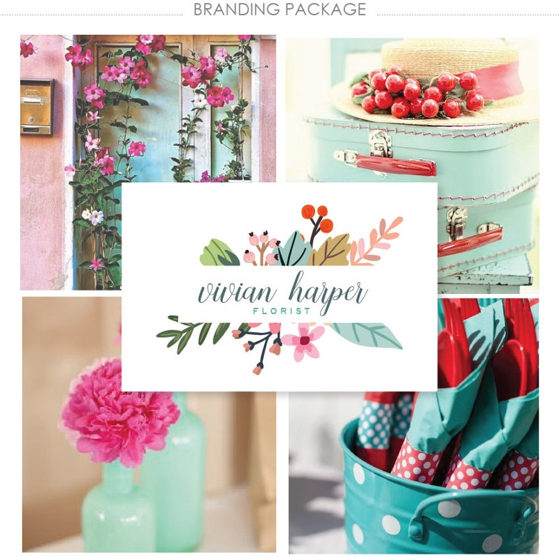 floral brand identity package1