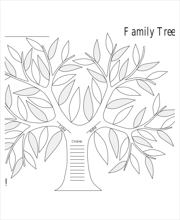 Family Tree Template - 10+ Free Psd, Pdf Documents Download | Free