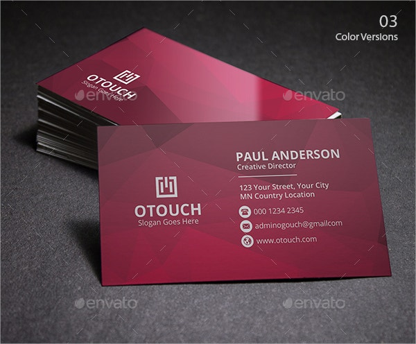 Business Card Template Free PSD Vector AI Format Download - Personal business cards template