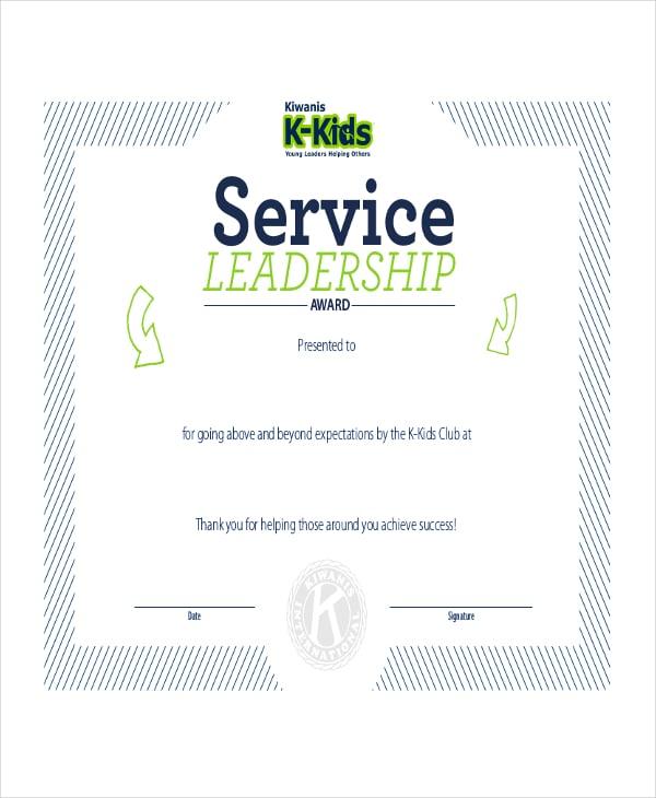 Leadership certificate template mandegarfo leadership certificate template yelopaper Image collections
