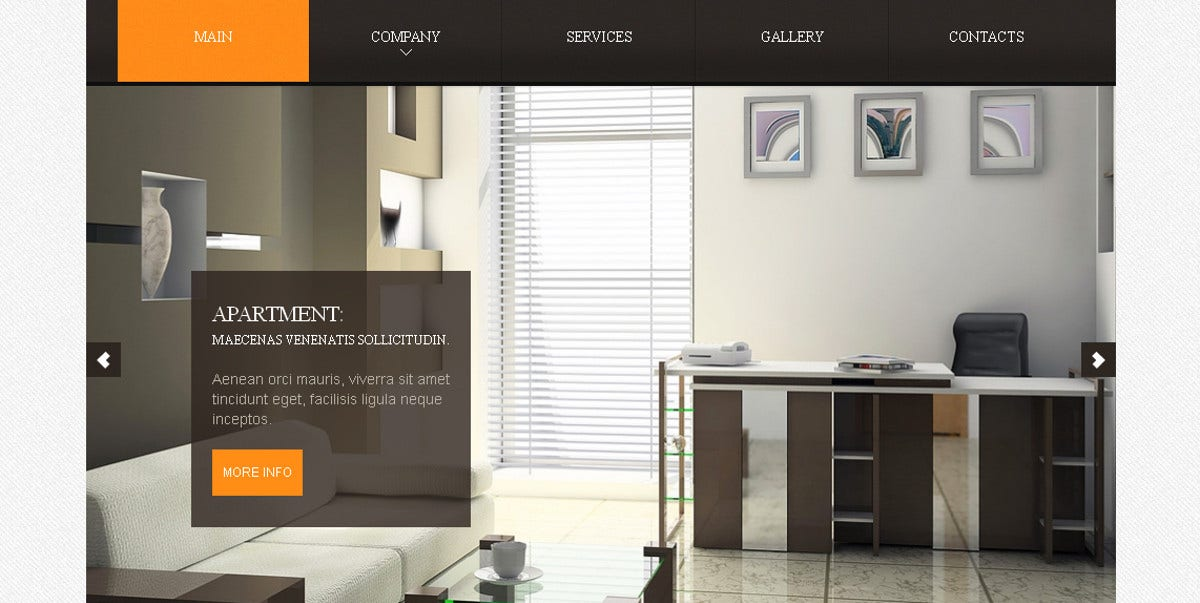 Real Estate Agency & Apartment for Rental Moto CMS Template $139