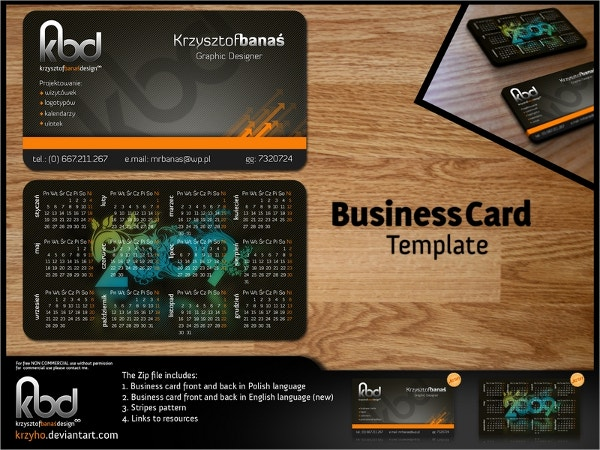 business-card-free-template