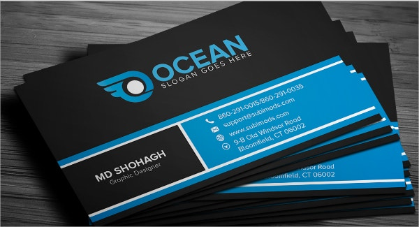 25 free business cards psd vector eps png format for Free business card design templates