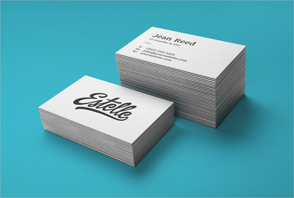 Stack Letterpress Free Business Cards
