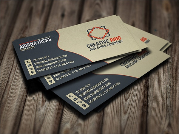 Creative Ring Free Business Card
