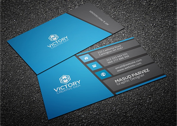 corporate business card free1