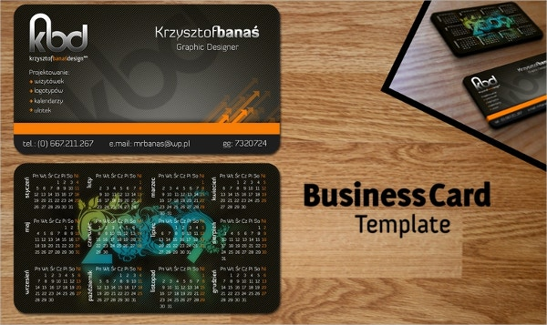 business card free template1