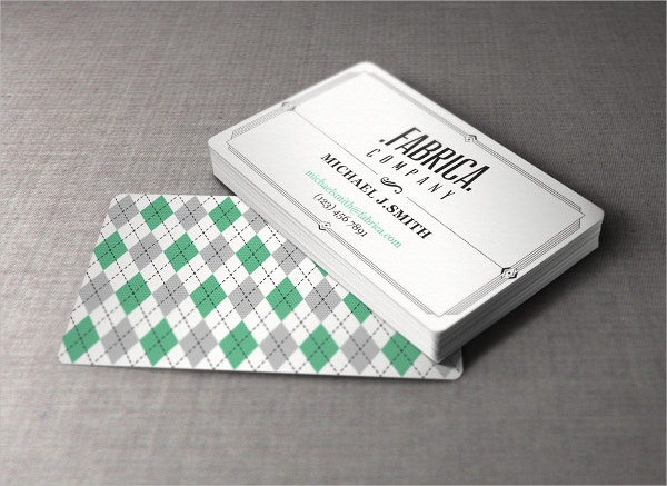 free retro business card1