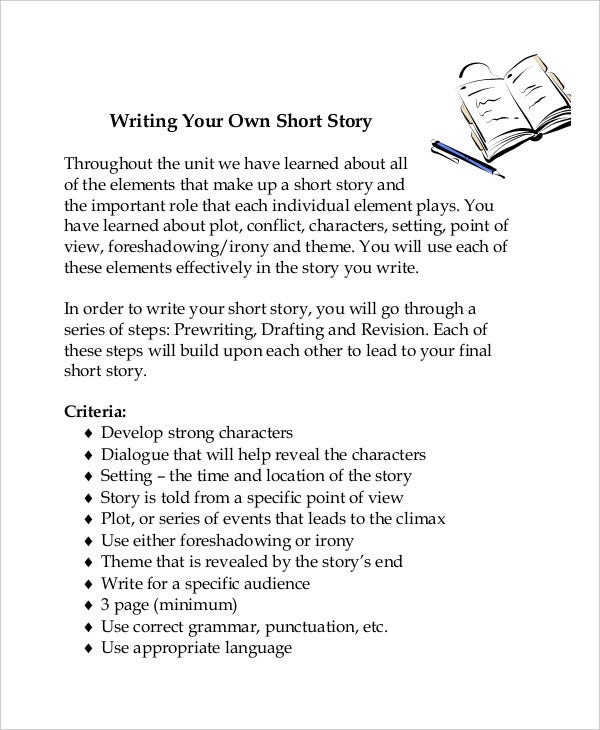 writing a short story