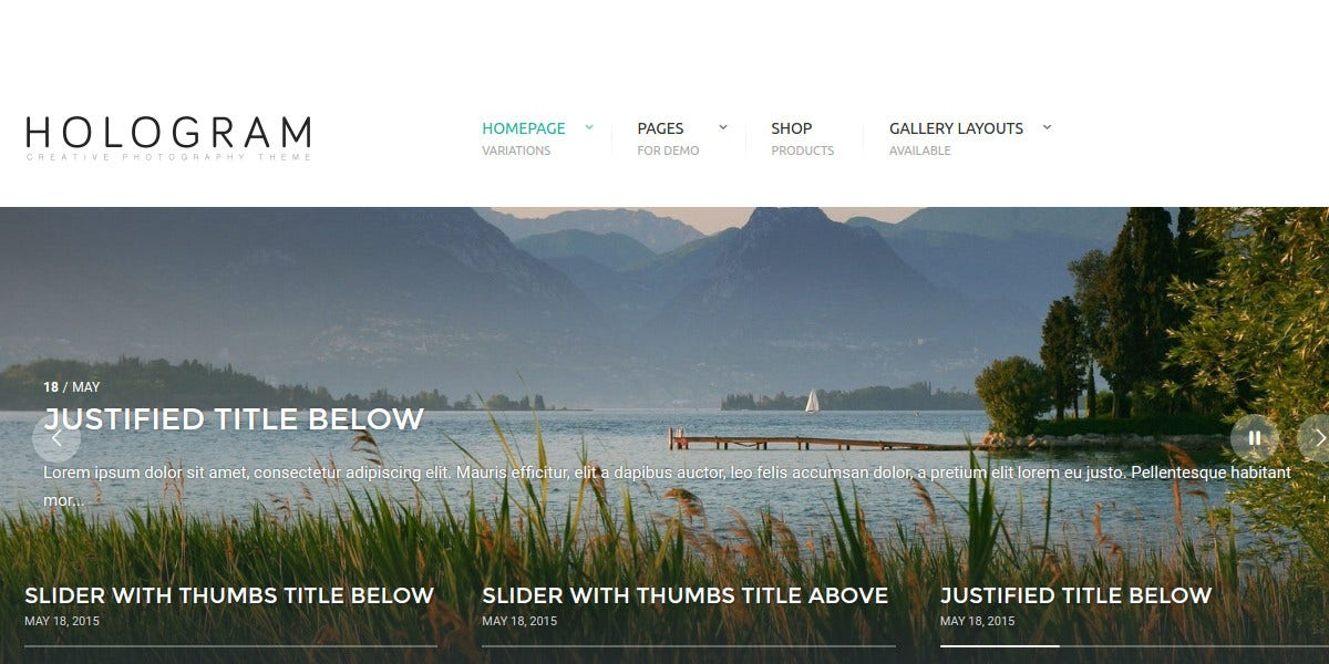 wedding photography website theme 59