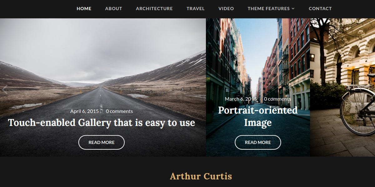 beautiful photo wordpress website theme 69