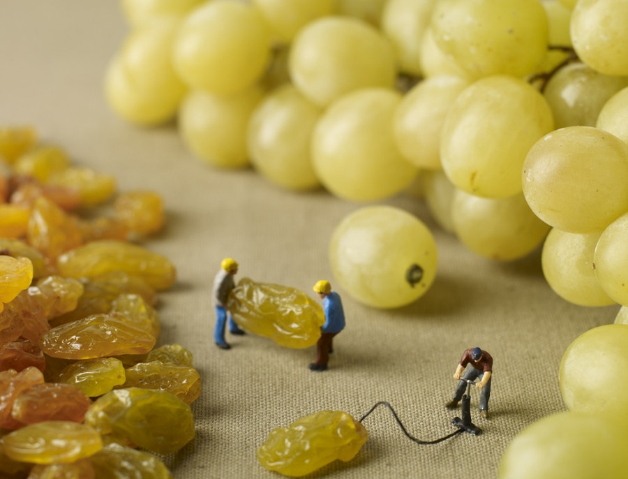 beautiful-miniature-art-of-kismiss-grapes