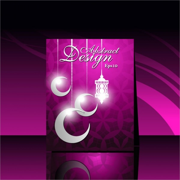 EID Greeting Card Template