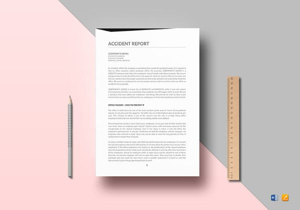 17+ sample incident report templates pdf, doc   free & premium.