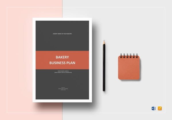 bakery business plan template