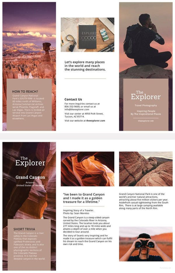 free-a5-brochure-template