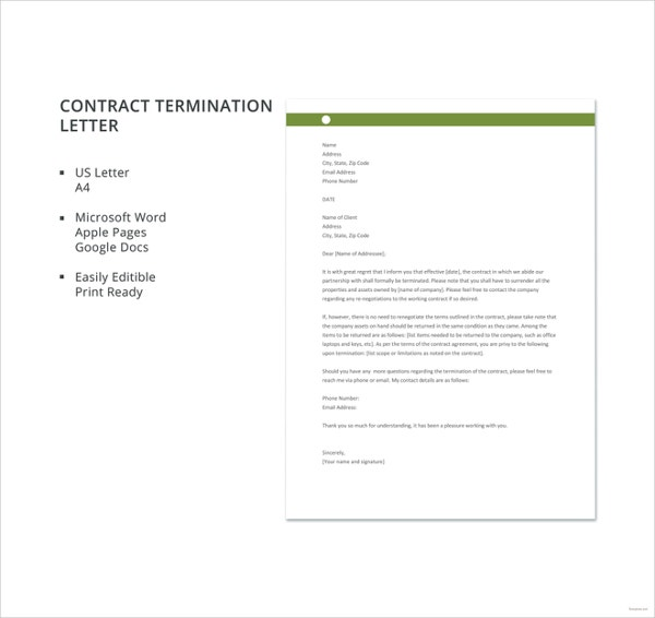 free-contract-termination-letter-template