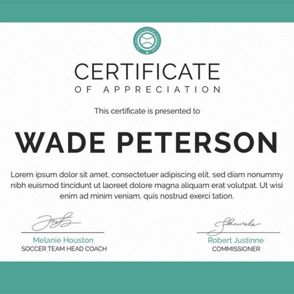 Award Certificate Template 39 Word Pdf Psd Format Download