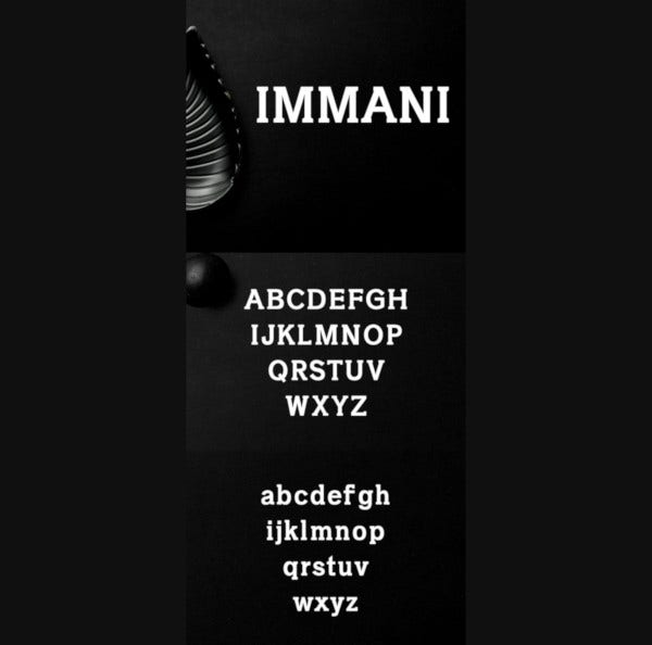 immani-2-font-family-pack