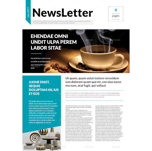 informative newsletter template