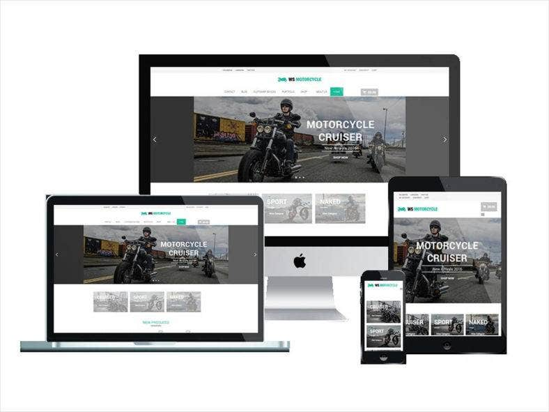motorbike-wordpress-theme