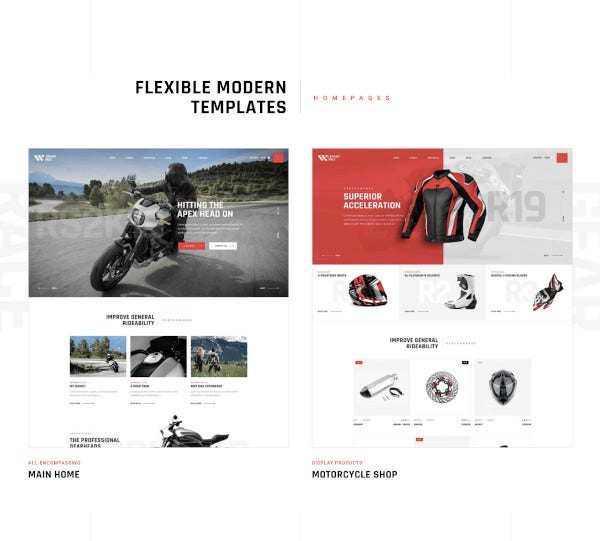 motorcycle wordpress theme1