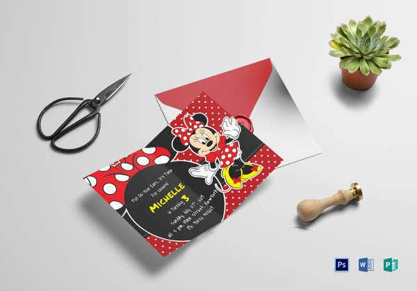 rocking-minnie-mouse-birthday-invitation-card
