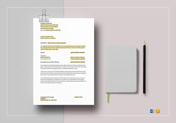 settlement-statement-template