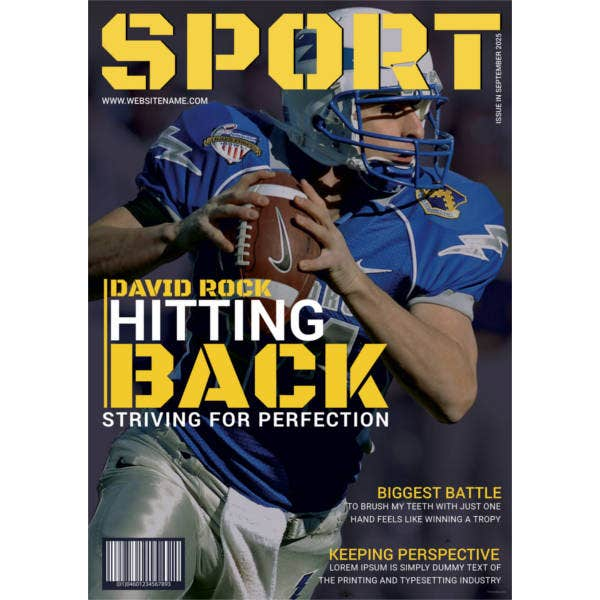 sports-magazine-cover-template
