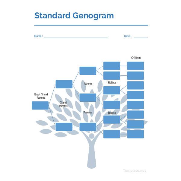 standard-genogram-template