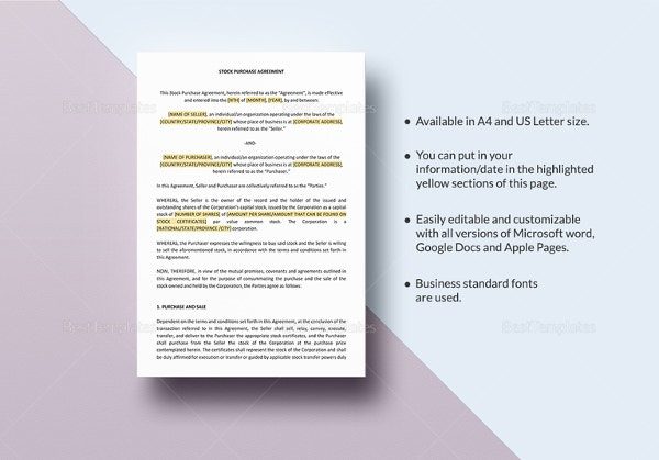 Purchase And Sale Agreement   Free Pdf Documents Download  Free