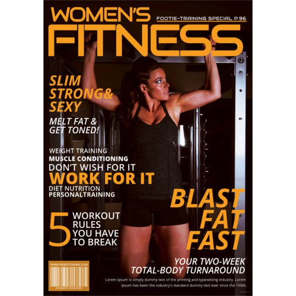 womens-fitness-magazine-cover-template