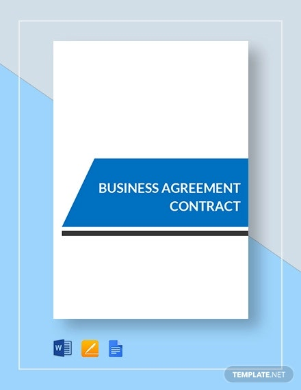 business agreement contract