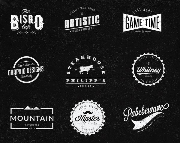 Free Retro Logos